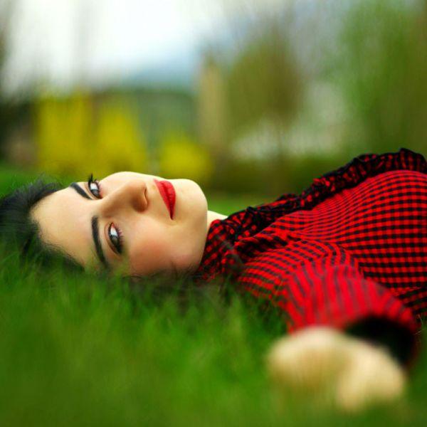 عکس عاشقانه دختر رمانتیک و فانتزی