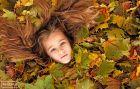 دختر - عکس پاییز - رمانتیک