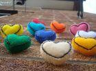 قلب - مخملی - رنگارنگ